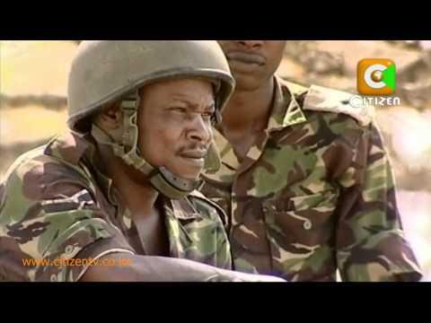 Kenyan Army -- Fight Against Alshabaab