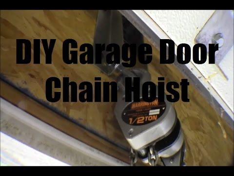 RicksDIY Installing Chain Hoist Attachment Point In Garage Beam Header Part1