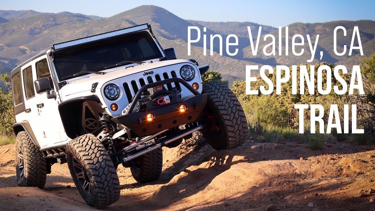 Pine Valley, California - Espinosa Trail - Jeep Wrangler ...