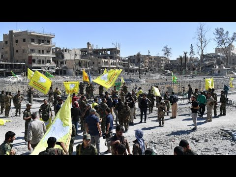 Syria: US-backed Coalition forces liberate Raqqa from Islamic State group