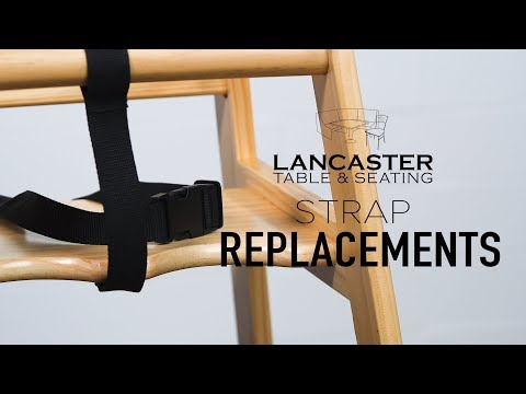 Lancaster Table & Seating: Replacing Crotch and Seatbelt Straps