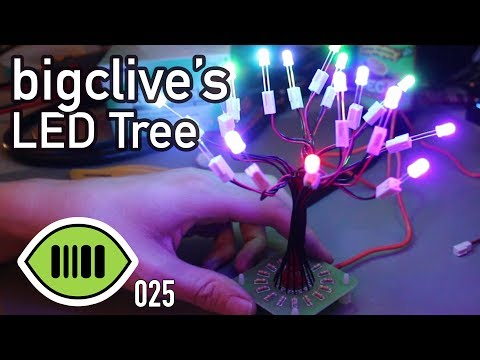 bigclive's LED Tree - scanlime:025