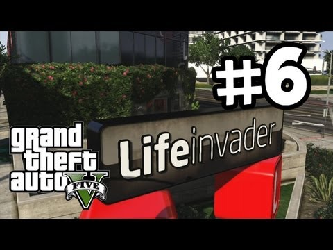 Grand Theft Auto 5 Part 6 Walkthrough Gameplay - Lester - GTA V Lets Play Playthrough