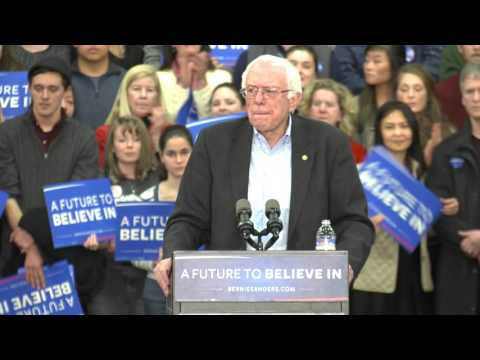 A New Opportunity in 2016 | Bernie Sanders