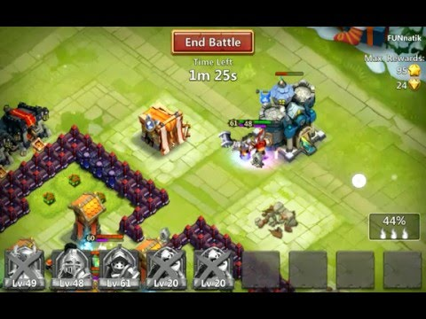 App Test 132: Castle Clash: Age Of Legends (Android) Gameplay