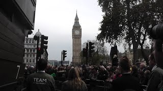 Remembrance Sunday in London 09/11/2014