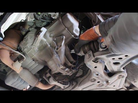 Замена сцепления на Chevrolet Aveo 1,2 Шевроле Авео 2009 года  1часть
