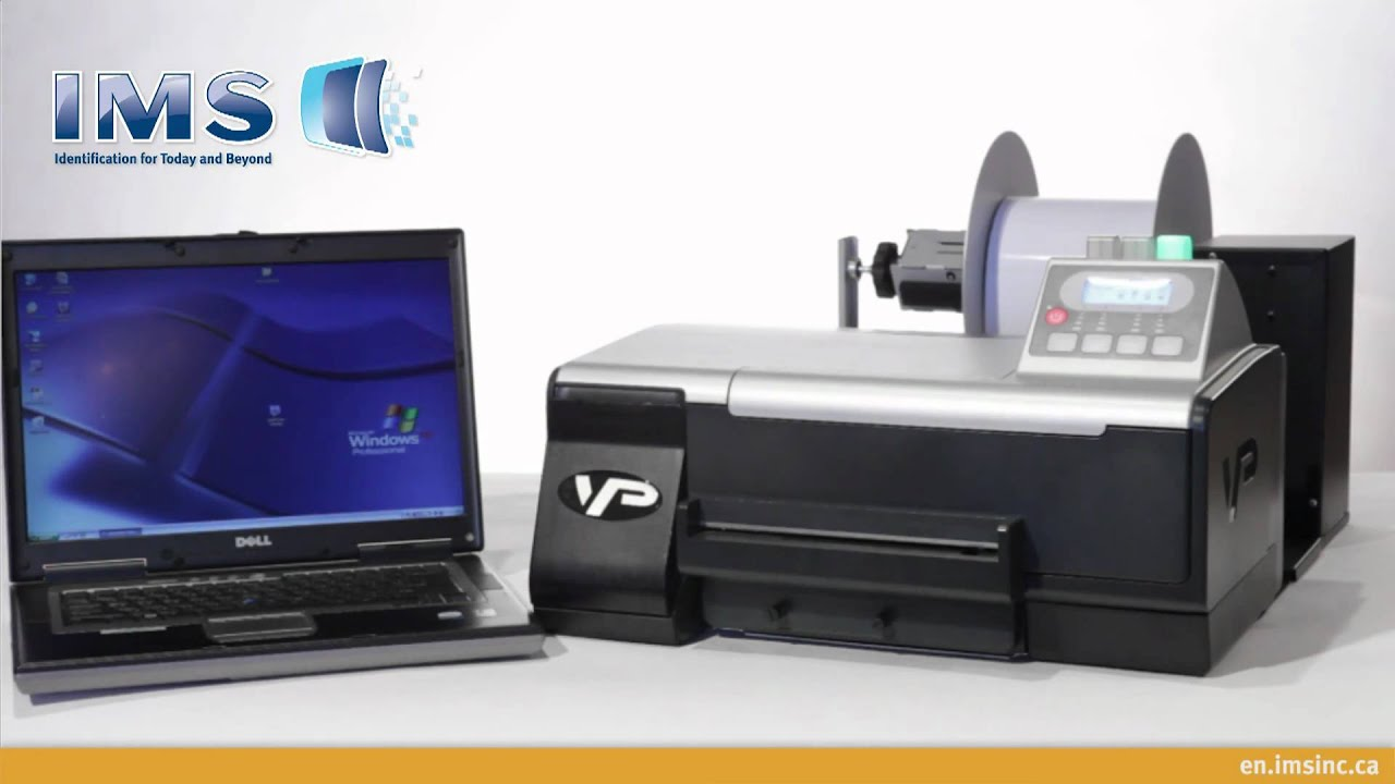 Color printer label - Vip Color Vp485 Label Printer Presentation By Ims
