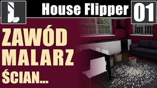 Zawód Malarz House Flipper 01