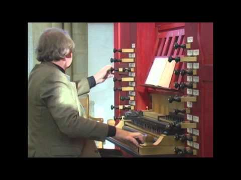 Willem van Twillert presents Kees van Eersel IMPROVISATION 'The birds...'' Choir-organ Kampen