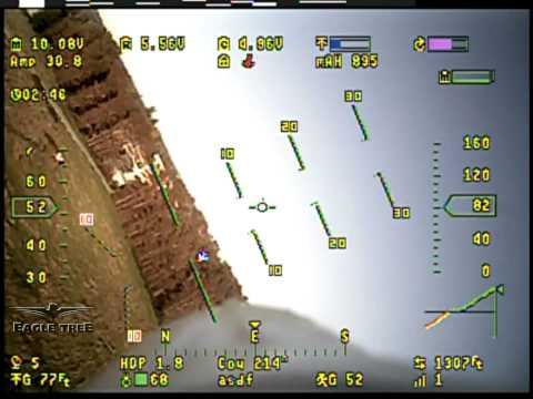 Vector FPV Controller with Full Color OSD on a Funjet