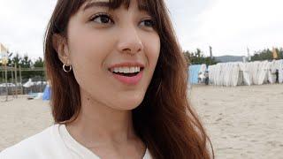 Yangyang beach vlog فلوق رحلة البحر