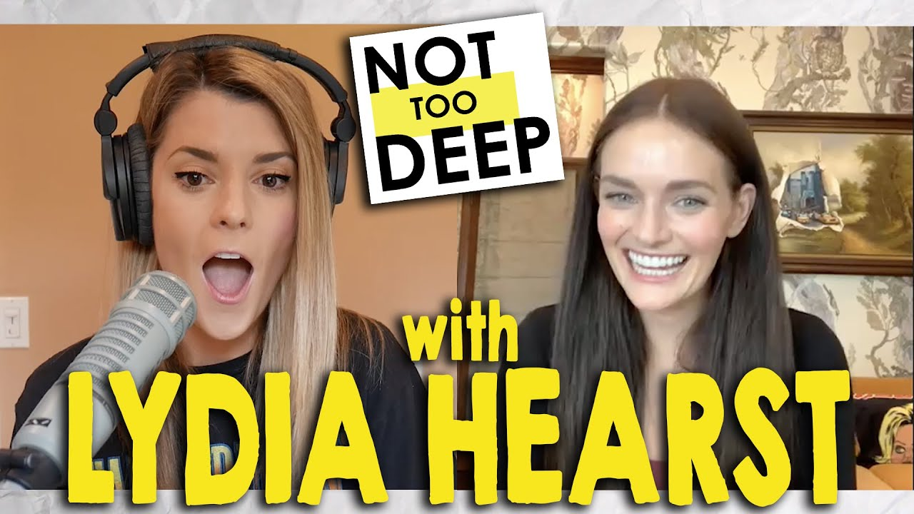 LYDIA HEARST on #NotTooDeep // Grace Helbig
