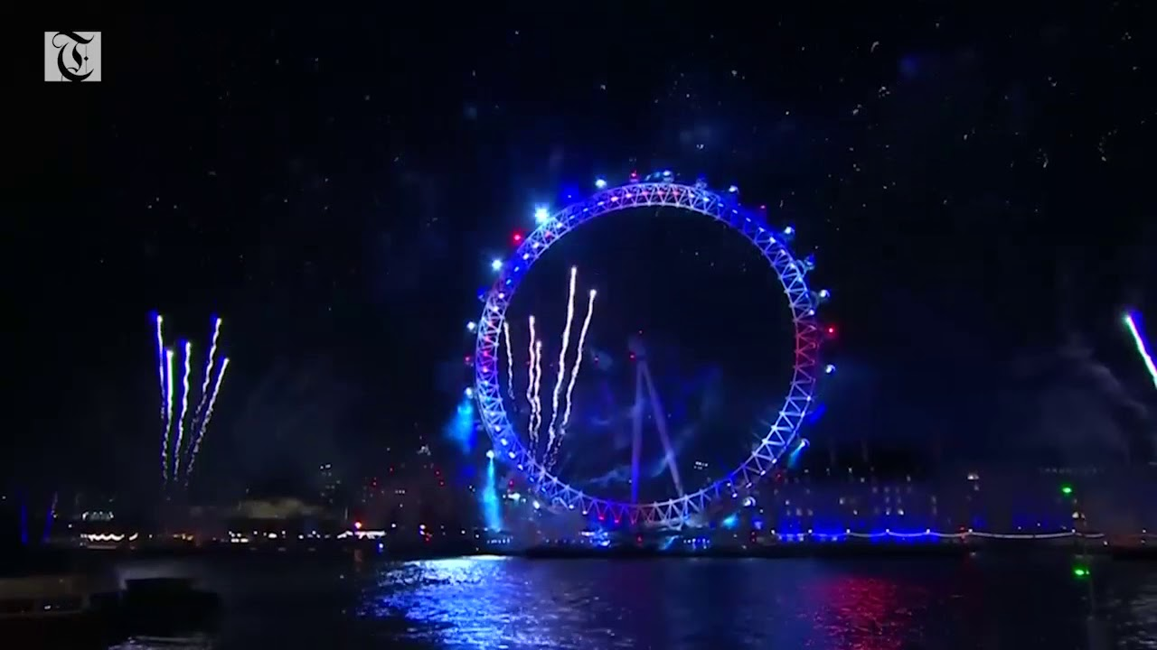 U.K. rings in New Year with fireworks