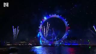U.K. rings in New Year with fireworks thumbnail