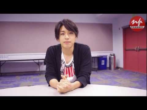 Yuya Matsushita Anniversary Message for Nippon Project
