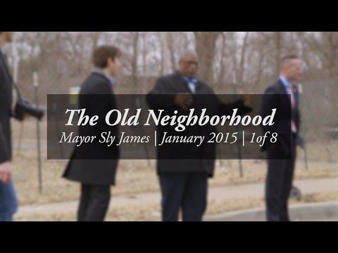 The old neighborhood -- Walk-and talk with Mayor Sly James #1/8