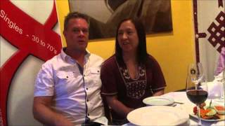 Dave and Lei, share their story of meeting at Social 8