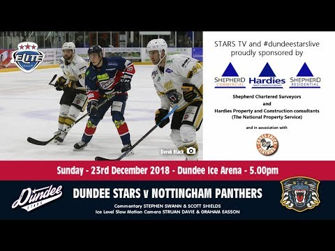 23/12/2018 - Dundee Stars v Nottingham Panthers