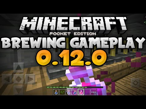 BREWING AND POTIONS in 0.12.0 - Guide and Tutorial - Update Review - Minecraft PE (Pocket Edition)