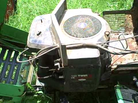 Lawn Boy Riding Mower Model Yt16 Youtube