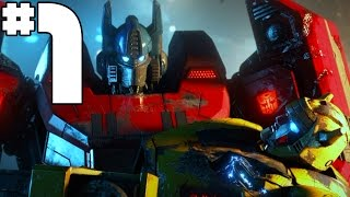 Transformers Fall of Cybertron - Part 1  - The War begins (Campaign) [PLAYSTATION 4 / XBOX ONE]