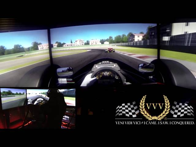 Project CARS Lotus 98T at Imola - GoPro PC Triple Screen Racing