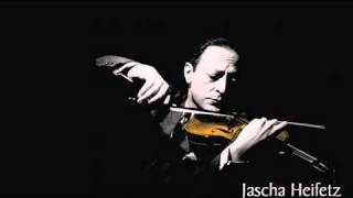 Heifetz plays Dvorak