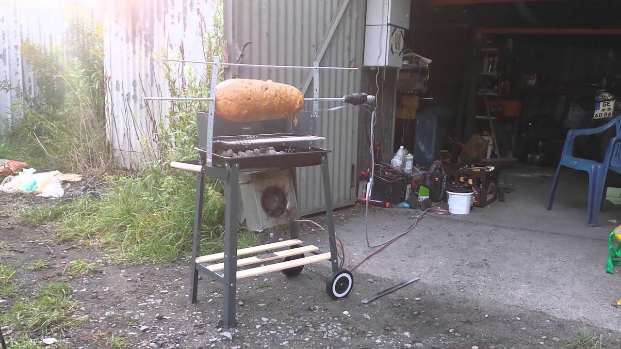 döner auf holzkohle grill - 1 - youtube