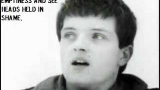 Unseen Lyrics of Ian Curtis