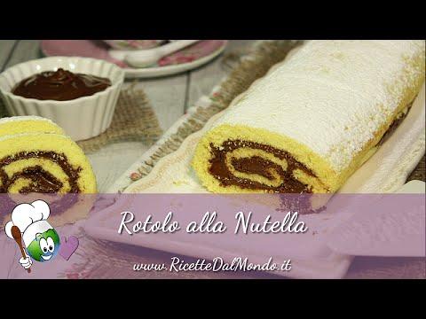Rotolo Alla Nutella Fatto In Casa Da Benedetta Idee Immagine Di