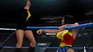 Wonder Woman vs Dark Mary Marvel