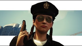OFFICER DDAB SHOWS NO MERCY! (GTA 5 FUNNY COPS AND ROBBERS)