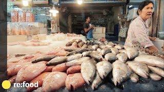 Fresh Fish Market In Thailand - Seafood At Naklua Pattaya