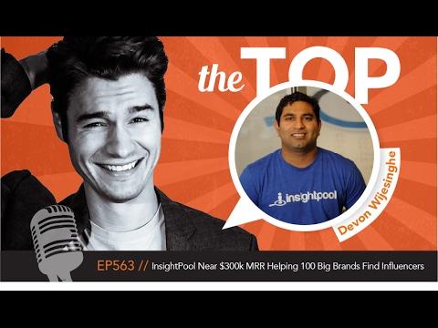 InsightPool Near $300k MRR Helping 100 Big Brands Find Influencers with CEO Devon Wijesinghe