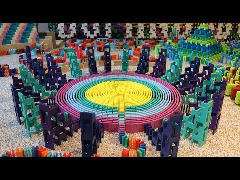 25,000 DOMINOES - Domino World 2018