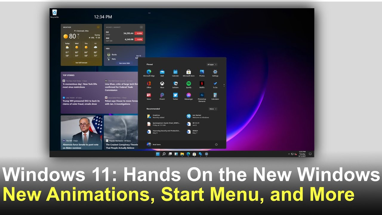 Windows 11 hands on: First look at the leaked OS
