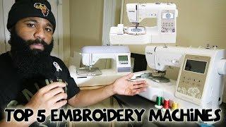 Gambar cover Brother Embroidery Machines | PE800 vs PE770 | PE535 vs SE625 / SE600 & SE400