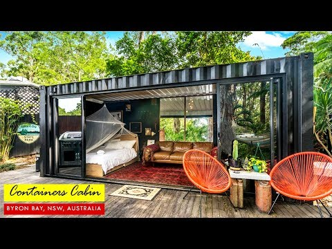 20 Foot Tiny Container House in Byron Bay, NSW, Australia