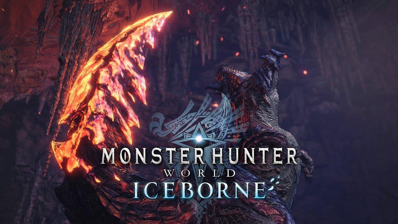 Monster Hunter World Iceborne Glavenus Trailer Youtube