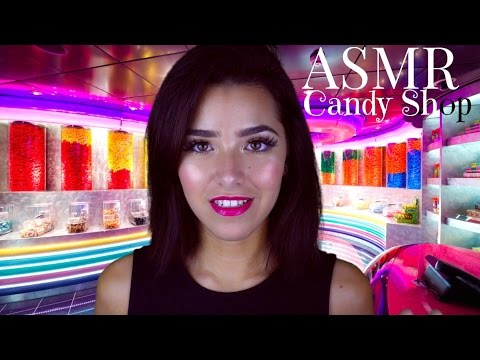 ASMR Candy Shop | Wonka's Chocolate Factory Tasting (Crinkling, Scalp Massage, Scratching +)