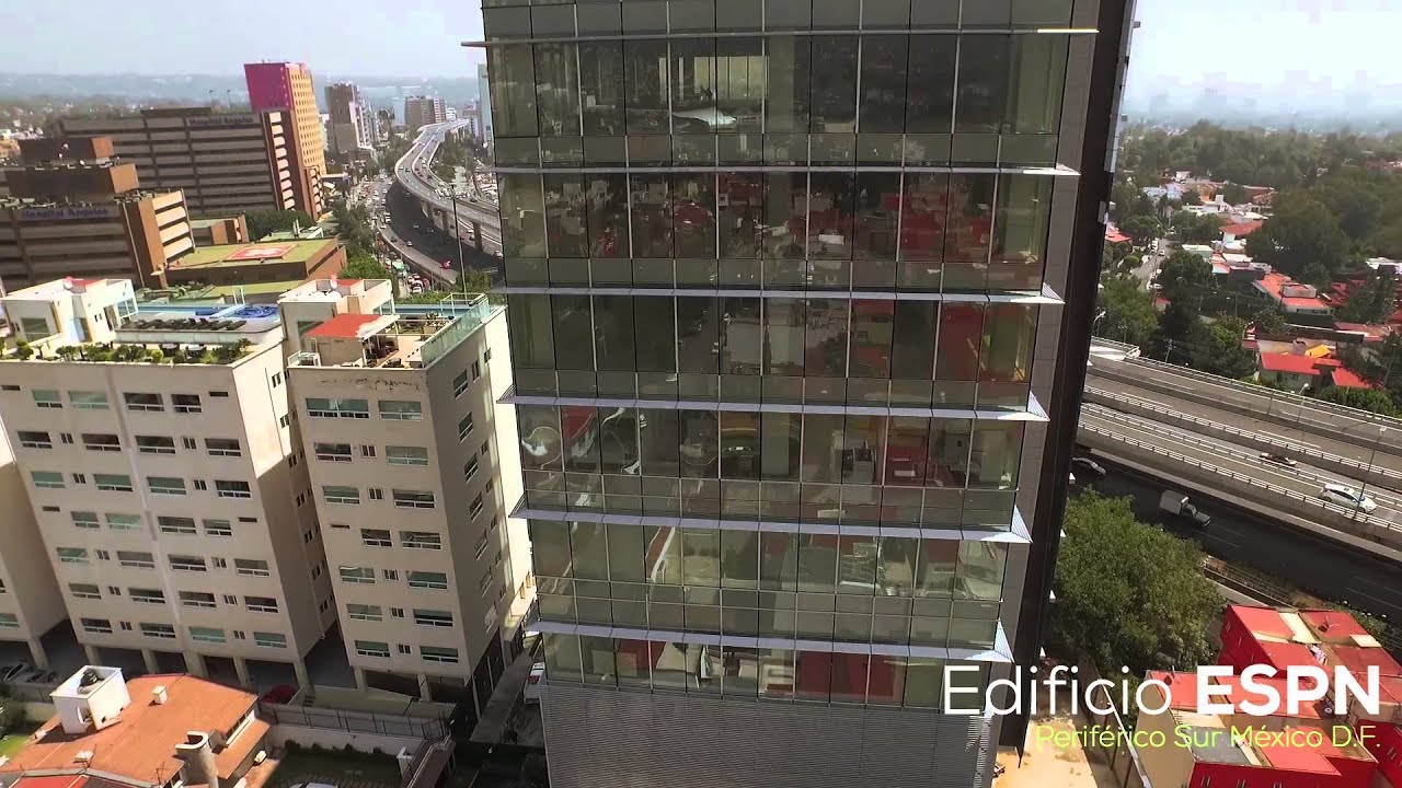 Edificio espn m xico youtube for Oficinas de youtube mexico