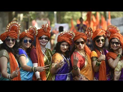Lazim - Traditional Maharastrian Dance Lazim On the Occation Of Dashera