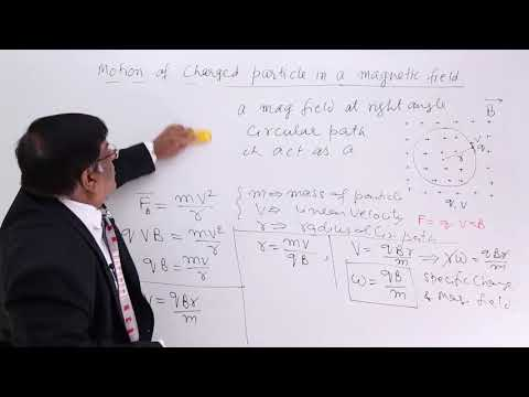 Motion of Charged Particle In A Magnetic Field