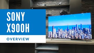 Sony X900H Series 4k LED Overview - XBR65X900H