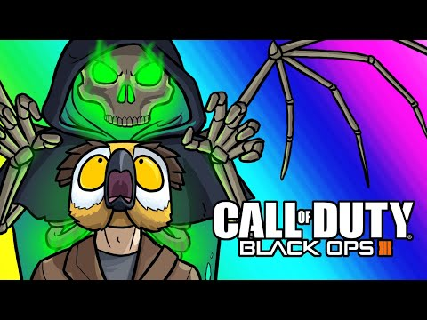 Black Ops 3 Zombies Funny Moments - Making Donations and One Hitter Quitter Boss