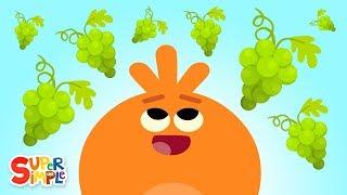 The Bumble Nums Make Gooshing Green Grape Juice | Cartoon For kids
