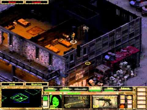 Fallout Tactics Walkthrough Part 7 Quincy