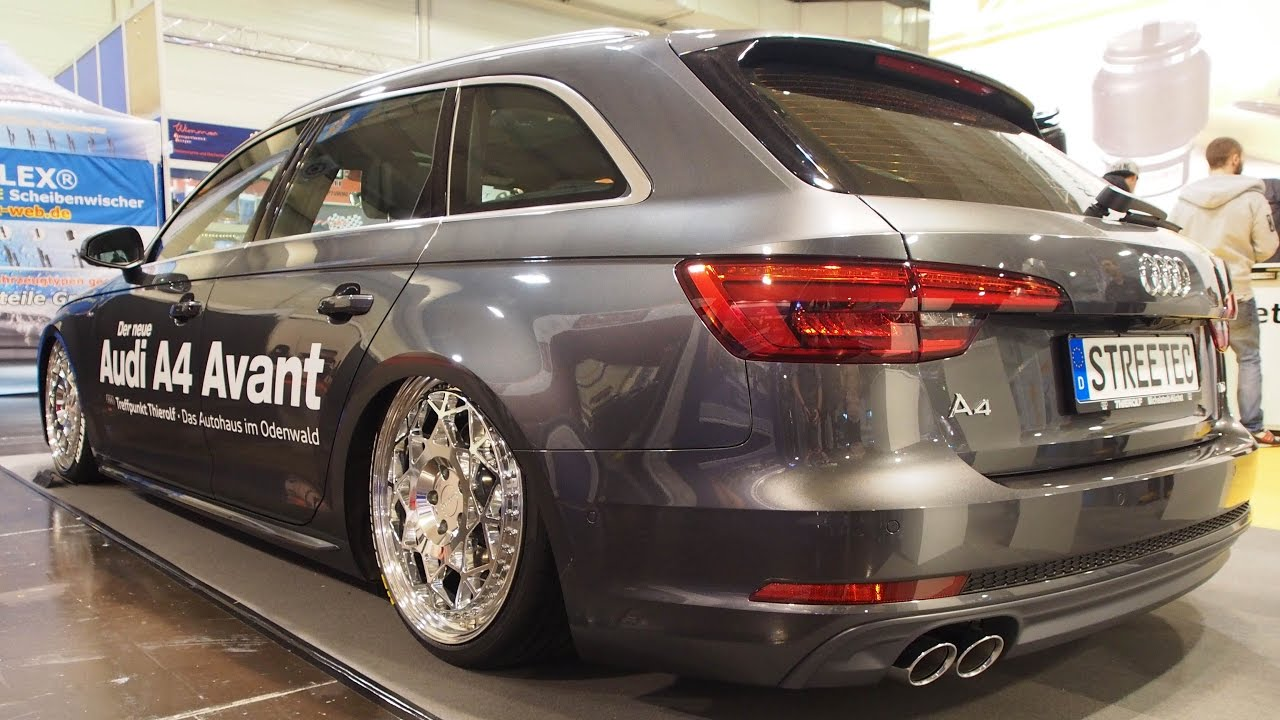 audi a4 avant air suspension air ride by streetec tuning. Black Bedroom Furniture Sets. Home Design Ideas