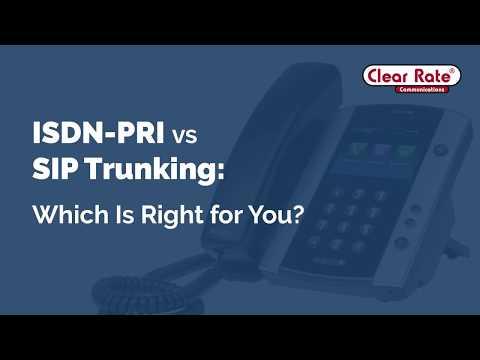 ISDN-PRI vs SIP Trunking